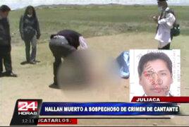 Juliaca: supuesto descuartizador de cantante folclórica se suicidó