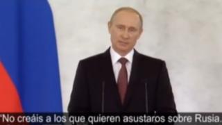 Vladimir Putín firmó anexión de Crimea a Federación Rusa