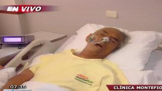 Piden ayuda para anciano que fue atropellado y está hospitalizado como NN