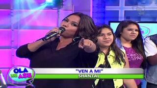 Shantall  y el Club Diva deleitaron al público con el tema 'Ven a mi'