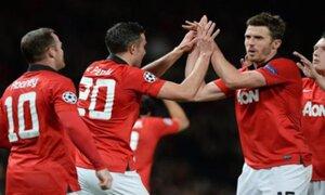 Manchester United goleó 3-0 al Olympiacos y pasó de ronda en la Champions