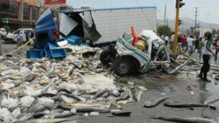 Aseguran que es imposible impedir paso de vehículos pesados por Av. Gambetta