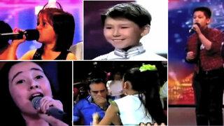 VIDEO: Las más brillantes y emotivas presentaciones de niños en realities de canto