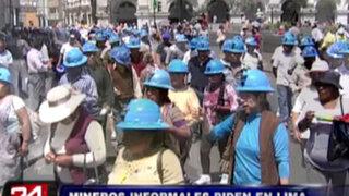 Noticias de las 6: mineros informales radicalizan sus medidas de protesta en Lima