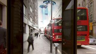 VIDEO: Ovnis, meteoritos y monstruos aterran a transeúntes en Londres
