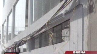 Breña: vecinos de una quinta denuncian perjuicios por construcción de edificio