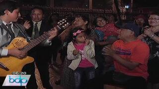 VIDEO: Así fue la serenata y misa por el cumpleaños 90 de Óscar Avilés