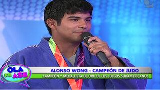 Juegos Odesur: conoce al judoka peruano que ganó la medalla de oro