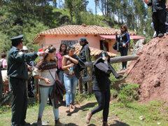 Policía intervino a turistas que realizaban orgías en Sacsayhuamán