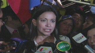 Suspenden a María Corina Machado como diputada de Venezuela