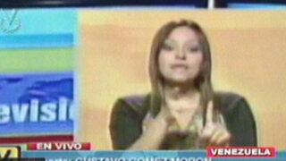 Asesinan a intérprete de señas de Venevisión durante protestas en Venezuela