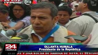 Presidente Humala: No habrán más plazos para mineros informales