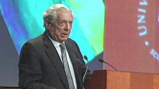 Mario Vargas Llosa apoyó posible postulación de Gastón Acurio