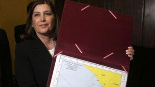 Perú y Chile suscribieron acta que fija las coordenadas de la frontera marítima