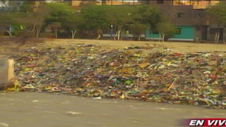 Municipios serían multados por altos índices de contaminación en río Rímac