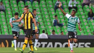 Copa Libertadores: Santos Laguna humilló por 4-1 a Peñarol de Paolo Hurtado