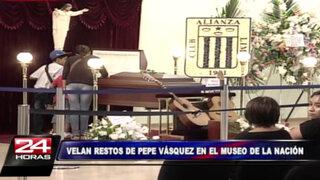 Seguidores de Pepe Vásquez le darán último adiós en Museo de la Nación