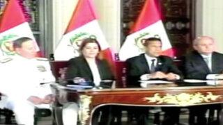 Marina expuso resultados de proceso de delimitación con Chile ante el Presidente