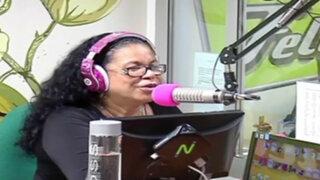 Eva Ayllón dedicó espacio a Pepe Vásquez en su programa radial