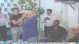 Artistas armaron jarana para despedir al cantante Pepe Vásquez