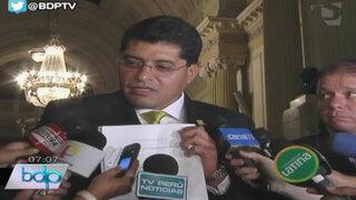 Alcalde de Surco afirma que documento prueba vínculo entre FF.AA. y OLM
