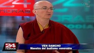 Maestra de budismo Ven Damcho ofrecerá conferencia en Lima