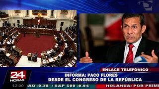 Congresistas exigen al presidente Humala aclarar sobre hijo extramatrimonial