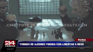 Rusia: campeonato de ajedrez en cárcel premia a internos con la libertad