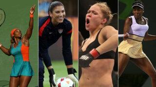 FOTOS: conoce las 10 deportistas más buscadas en Google