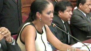 Gana Perú: Vemos con mucha preocupación la situación de Cenaida Uribe