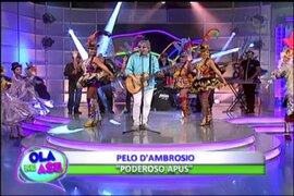 Sergio Pelo D'Ambrosio nos canta su nuevo tema 'Poderosos Apus'