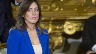 María Elena Boschi: la ministra italiana que alborotó las redes sociales