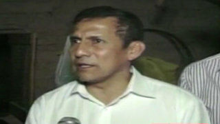 Ollanta Humala no descarta tomar acciones contra Yehude Simon