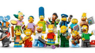 FOTOS: Los Simpson se transforman en piezas de Lego