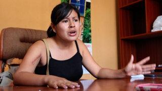 Fiorella Nolasco pide la detención del congresista Heriberto Benítez