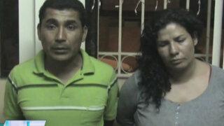 Policía detuvo a sujeto que junto a su pareja intentó robarle a su padrastro