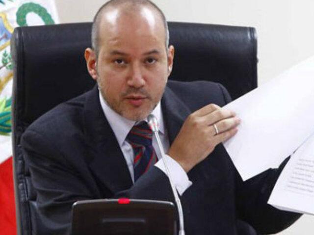 Noticias de las 7: Sergio Tejada pedirá reactivación de la 'megacomisión'