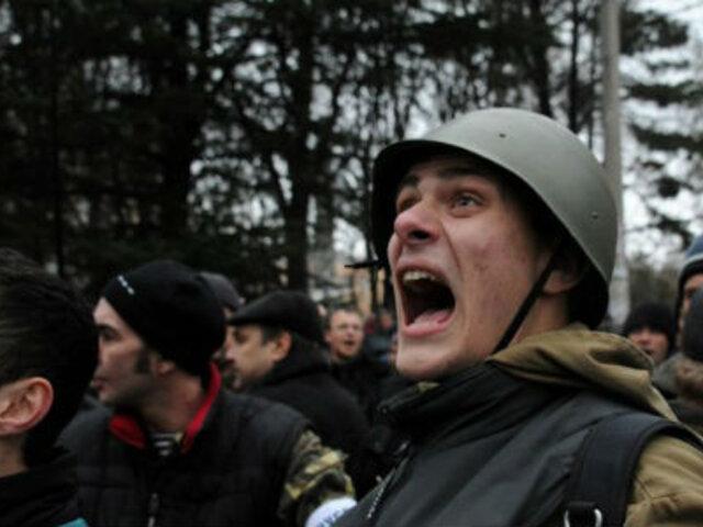 Líder derechista amenaza con sabotear los oleoductos rusos en Ucrania