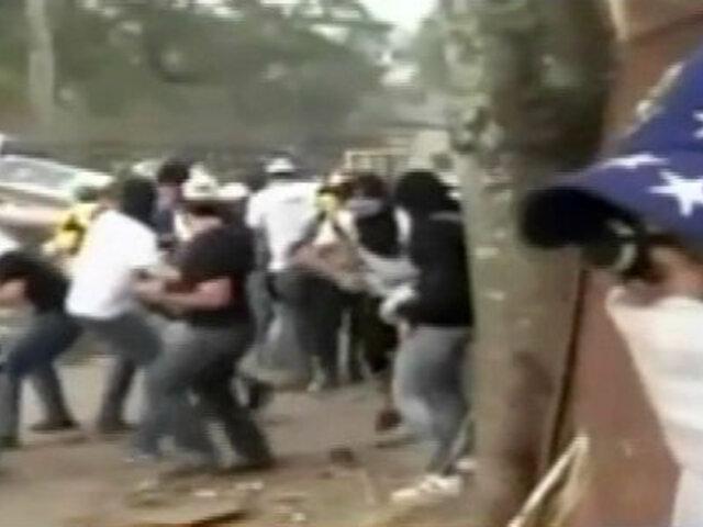 Venezuela: nueva jornada de violencia tras detención de dos alcaldes opositores