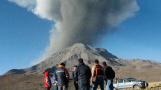 Moquegua: hasta 500 sismos diarios producen las explosiones del volcán Ubinas