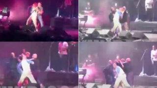 Cantante de Calle 13 armó pelea durante concierto en Vive Latino