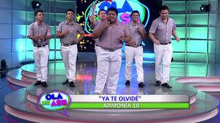 Baila al ritmo de la cumbia con Armonía 10 y su último éxito 'Ya te olvidé'