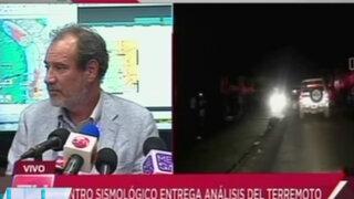 Centro Sismológico de Chile: Réplicas de terremoto se pueden sentir un año más