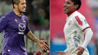 ¿Vargas vs. Ruidíaz? Universitario y Fiorentina jugarían amistoso en Lima
