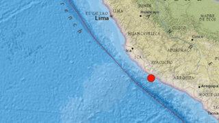 IGP: Terremoto en Chile disminuye intensidad de movimiento en el sur peruano