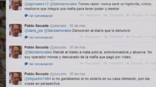 Tribunal de Ética del PPC: Se observa que Pablo Secada aún agrede a Policía