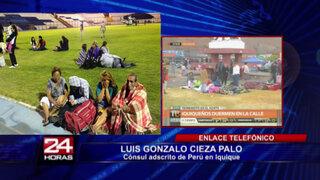 Chile: ésta es la situación de peruanos residentes en Iquique tras terremoto