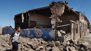 Huara es una de las zonas más golpeadas por el terremoto de Chile
