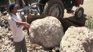 Alerta en Arequipa: Sismos provocan caída de grandes rocas