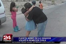 Se incrementan los ataques de pánico tras fuertes réplicas en Chile